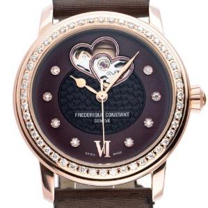 Uhr ohne Ziffern: Frederique Constant Heart Beat Ladies