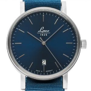 Uhr ohne Ziffern: Laco Classic Azur Stahl Automatik