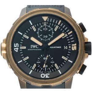 Lünette der IWC Aquatimer Expedition Charles Darwin Automatik