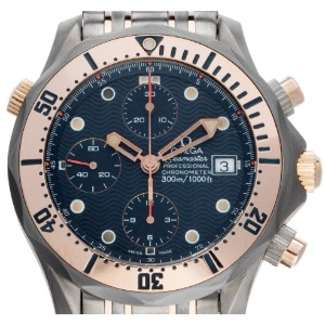 Drehlünette der Omega Seamaster Professional Diver