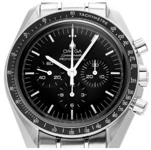 Feststehende Lünette der Omega Speedmaster Professional Moonwatch Chronograph