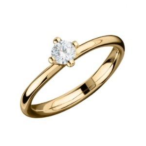 Fischer Verlobungsring, Apricotgold