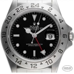 Zeitumstellung: Rolex Explorer II Stahl Automatik