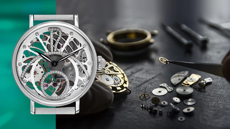 Skelett Uhren für Damen und Herren auf watch.de