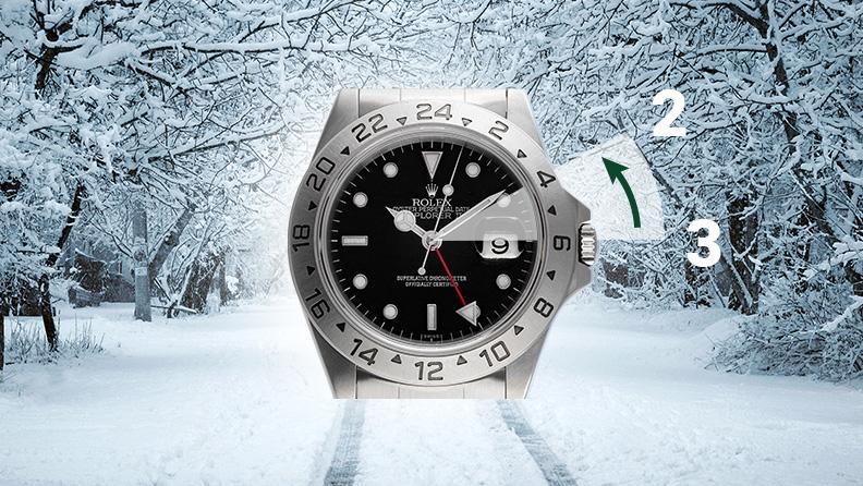 Winterzeit 2019 Uhren umstellen Rolex Explorer