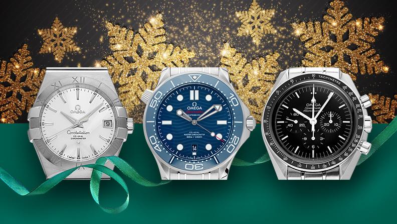 Omega Uhren auf watch.de zu Weihnachten 2019