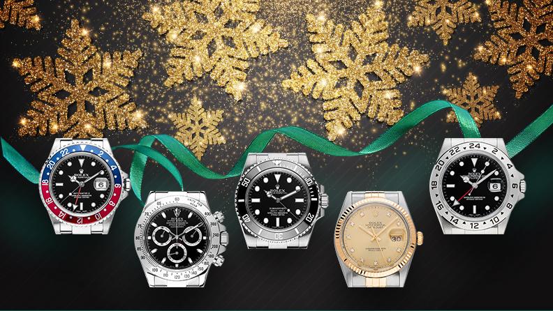 Rolex Uhren zu Weihnachten auf watch.de