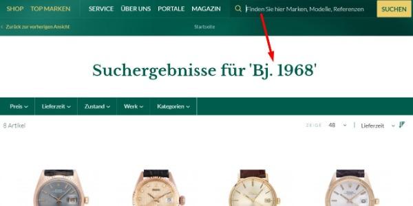 Suche auf watch.de