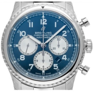 Reverse Panda Zifferblatt: Breitling Navitimer 8 Automatik Chronograph