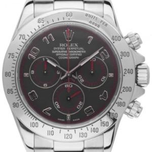 Rolex Daytona Stahl Racing Black Dial Automatik Chronograph