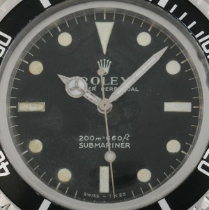 Rolex Submariner Matte Dial m/ft Stahl Automatik, Bj. 1970