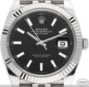 Rolex Datejust Stahl Weißgold Automatik