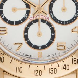 Rolex Daytona Zenith Inverted Six 18kt Gelbgold Automatik Chronograph, Bj. 1990