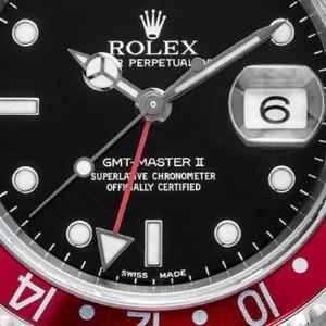 Ohne Stick Dial: Rolex GMT Master Pepsi Stahl Automatik, Bj. 2003