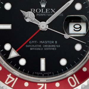 Rolex GMT Master II Coke & Pepsi Stahl Automatik