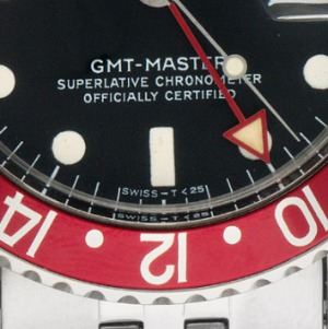 SWISS – T<25: Rolex GMT Master Pepsi Stahl Automatik
