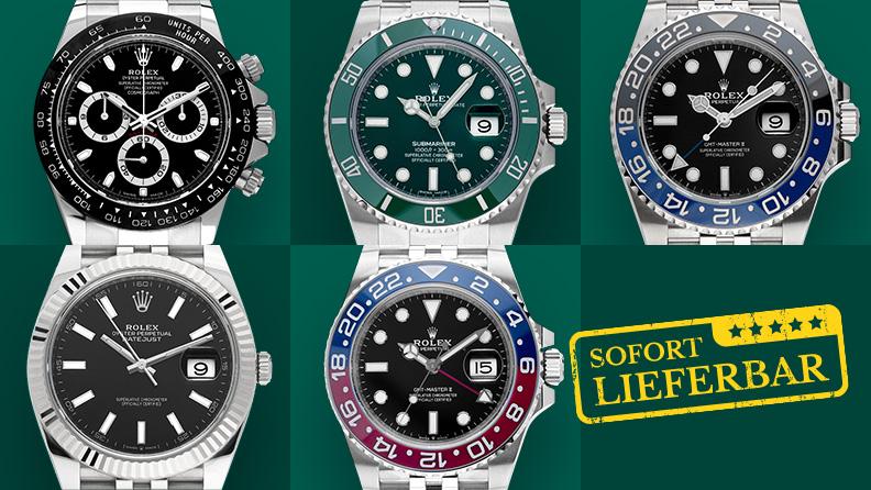 Rolex Uhren ohne Wartezeit