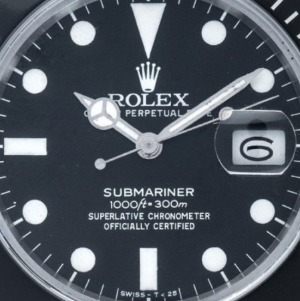 Rolex Submariner Date Matte Dial Stahl Automatik, Bj.1987