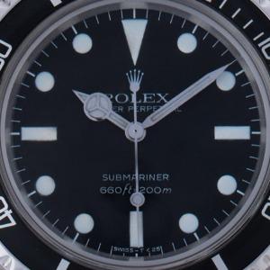 Rolex Submariner No Date Maxi Dial, Bj. 1981