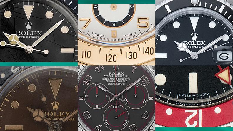 Rolex Zifferblätter und ihre Bedeutung