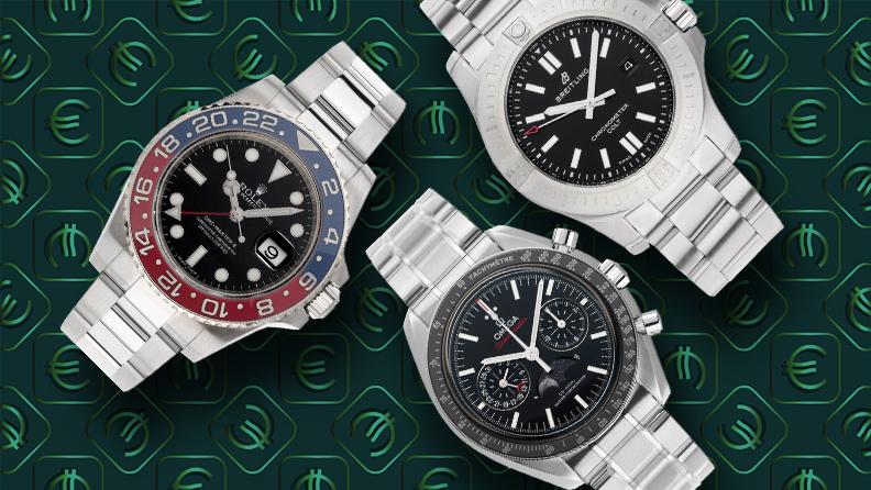 Uhren verkaufen bei watch.de Rolex, Breitling, Omega
