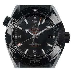 Omega Seamaster Planet Ocean 600m Co-Axial Chronometer GMT Keramik