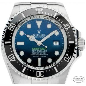 Rolex Deepsea D-Blue Stahl Keramik Automatik, Bj. 2020