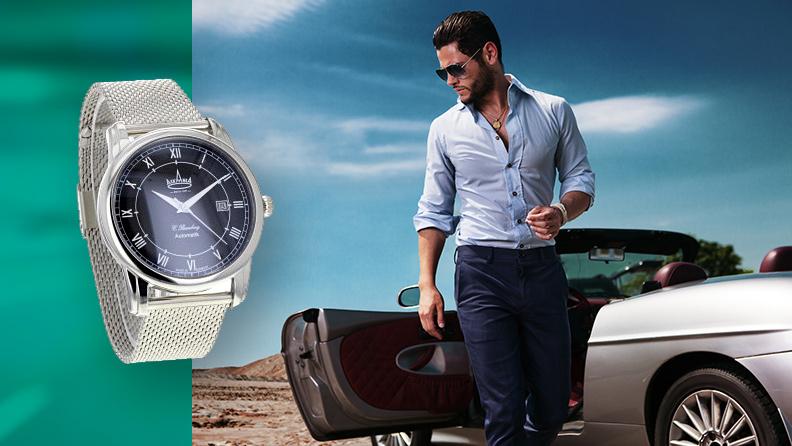 Uhr mit Milanaise Armband