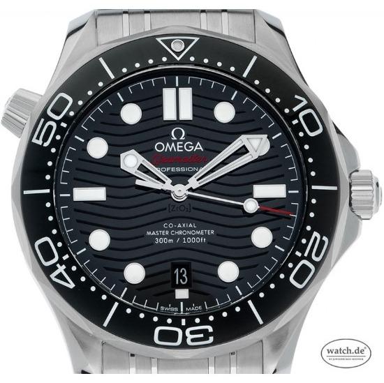 Omega Seamaster Diver 300m Co-Axial Master Chronometer Stahl Keramik Automatik