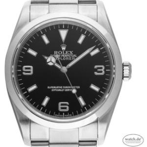 Rolex Explorer I Stahl Automatik, Vintage Bj.2002