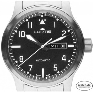 Fortis Aeromaster Stahl Automatik