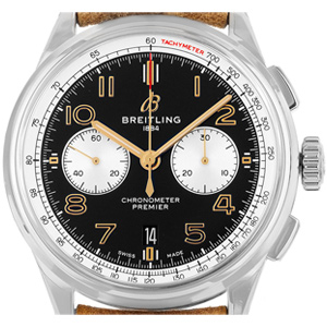 Breitling Navitimer B01 42 Norton Stahl Automatik Chronograph