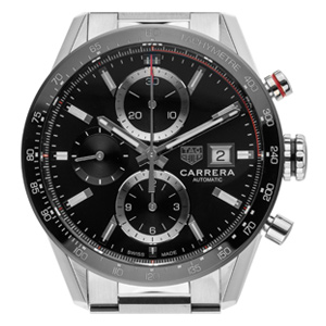 TAG Heuer Carrera Stahl Automatik Chronograph
