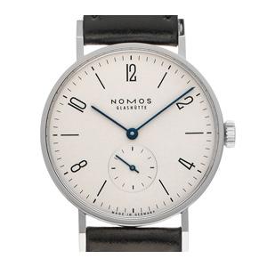 Nomos Glashütte Tangente Stahl (Gewicht der Uhr inkl. Armband 39 g)