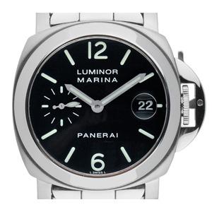 Panerai Luminor Marina Stahl Automatik (Gewicht der Uhr inkl. Armband 193 g)