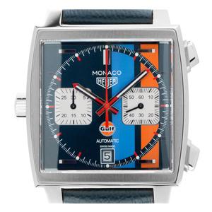 Tag Heuer Monaco Gulf Special Edition Steve Mcqueen Chronograph