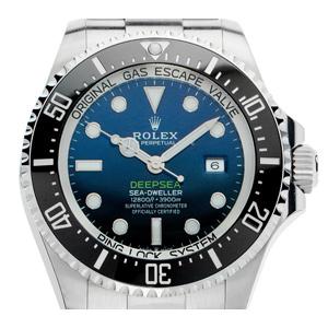 Rolex Deepsea Sea-Dweller D-Blue (Gewicht der Uhr inkl. Armband 220 g)