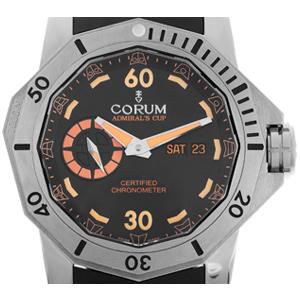 Titanuhr Corum Deep Dive Automatik, Armband Kautschuk