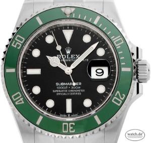 Rolex Submariner Date LV Verde Starbucks, Ref.126610LV Bj.2020