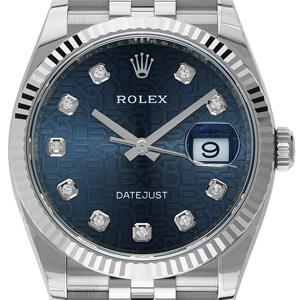 Rolex Datejust Dunkelblau