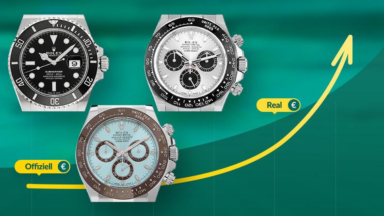 Rolex Uhren Preise