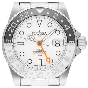 Davosa Ternos GMT Schwarz-Weiß