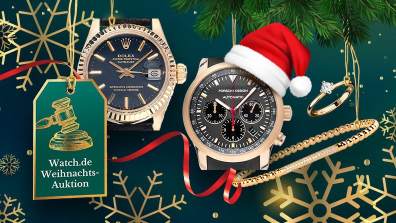 Online-Auktion zu Weihnachten