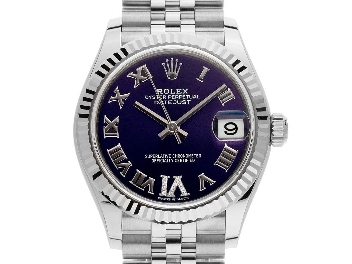 Rolex Datejust Medium Aubergine