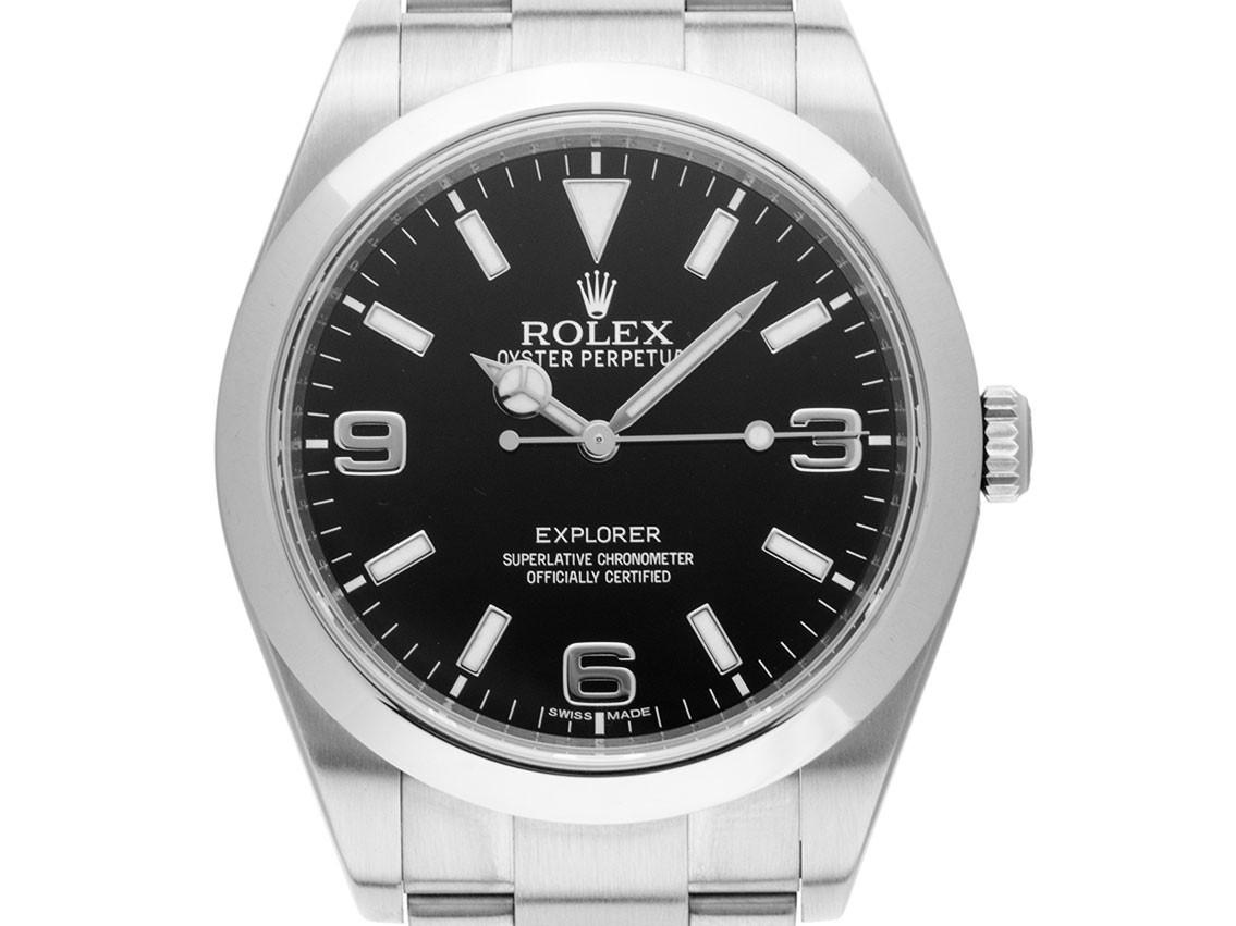 Rolex Explorer I Stahl Automatik