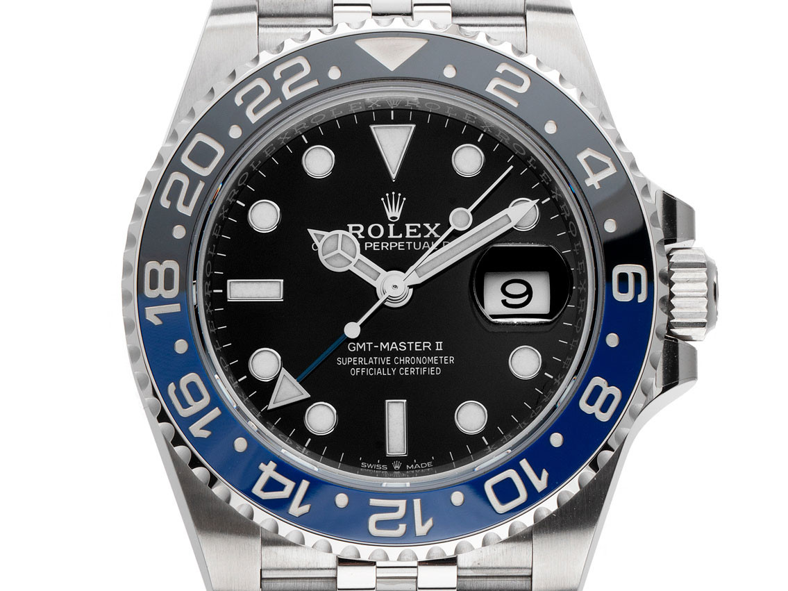 Rolex Gmt Master II Blau Schwarz Batman