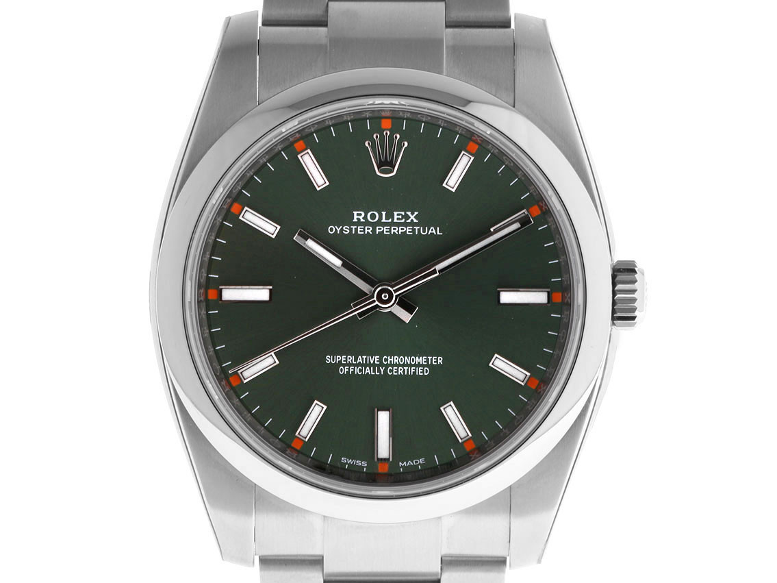 Rolex Oyster Perpetual Oliv