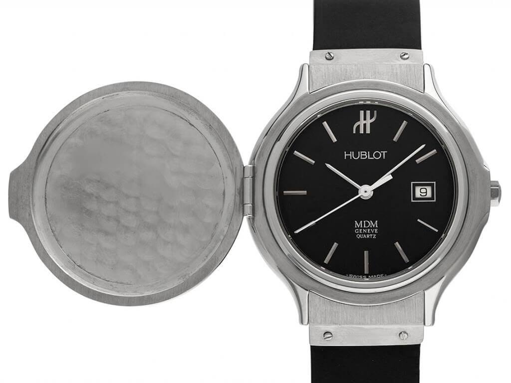 Hublot Uhr Damen: Classic MM Medium mit Klappdeckel