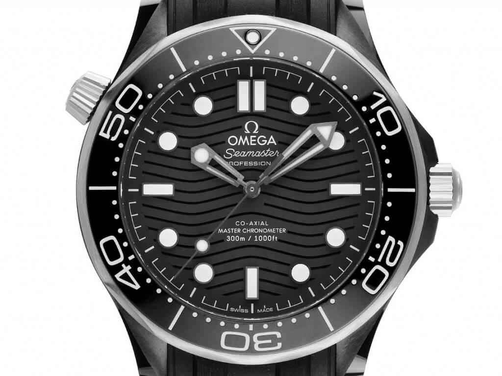 Sommeruhr: Omega Seamaster Diver Armband Kautschuk