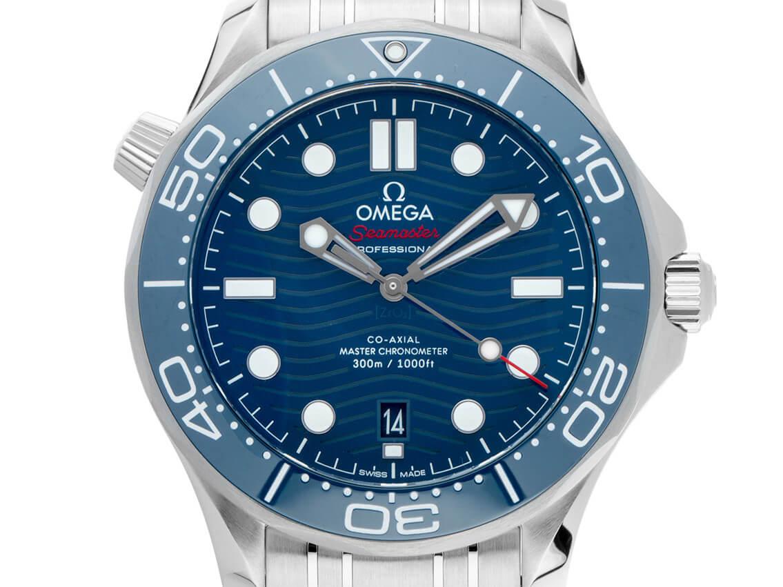 Omega Seamaster Diver 300M mit Co Axial Kaliber